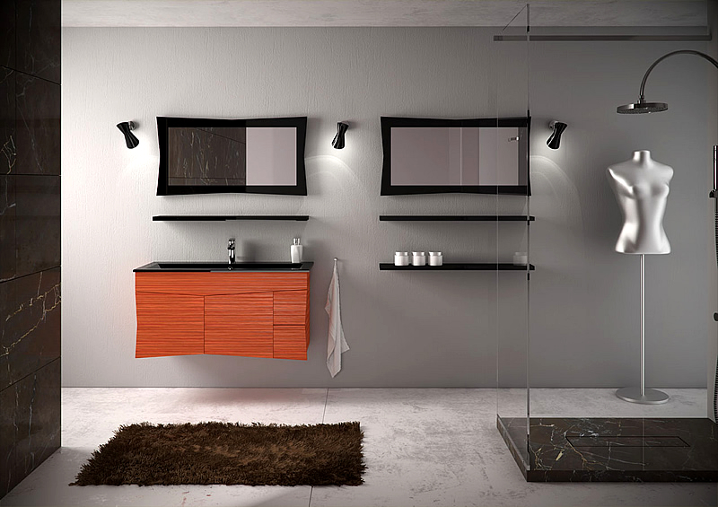 Arredo bagno moderno accessori e stili bagni da sogno for Accessori arredo bagno