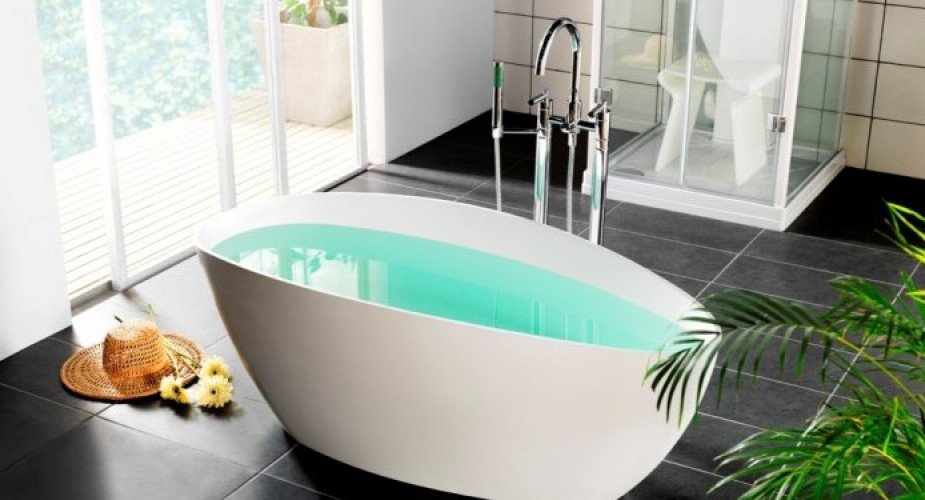 Vasche da Bagno pensate sempre più per essere al centro della stanza