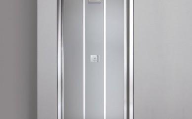 Porta Nicchia Doccia Star 90 cm con Tre ante Trasparenti