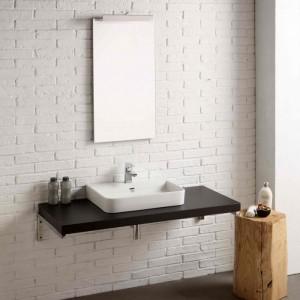 composizione bagno con lavabo