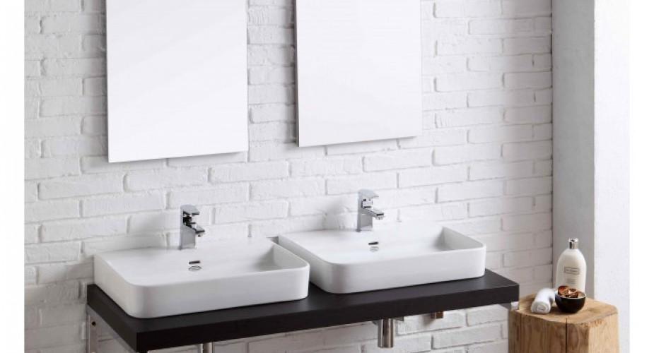 Best doppio lavabo bagno contemporary - Lavabo doppio bagno ...
