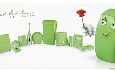 Copri water, sapone, carta igienica: i vantaggi dei dispenser colorati