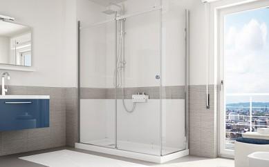 Sogni una doccia al posto della vasca? Ecco come realizzare il tuo desiderio