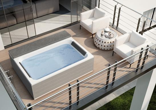 Scegli una vasca idromassaggio da esterno: relax al 100%!