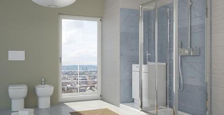 Accessori doccia: linee sinuose ed eleganti