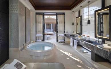 Nobili Rubinetterie arreda con la collezione Spring l'hotel votato come il più prestigioso al mondo del 2015