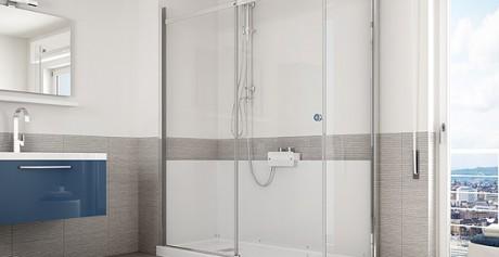 Trasformando la vasca in una doccia, si rivoluziona il design del bagno