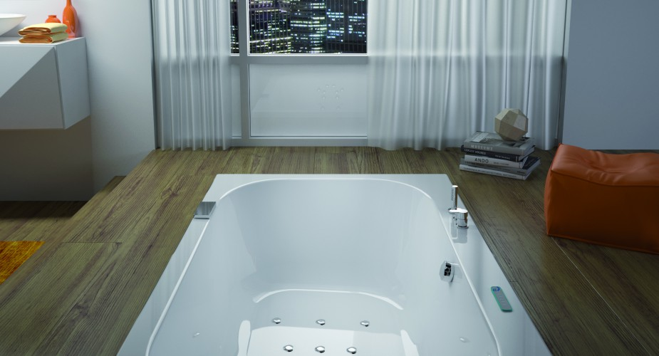 Grandform presenta la vasca da bagno Bossanova