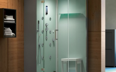 I box doccia attrezzati e le cabine di Grandform