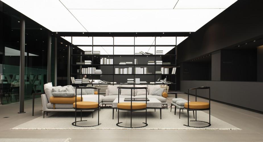 Milan Design Week 2018: B&B Italia and Maxalto new designs